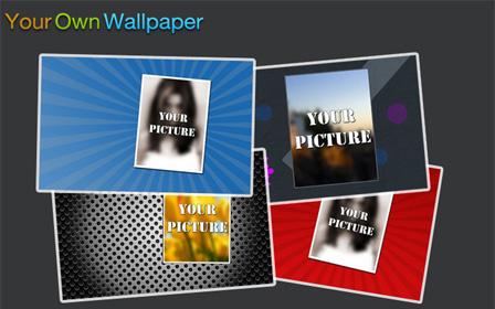 membuat wallpaper sendiri
