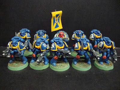 Ultramarines de Space Marines Warriors of the Imperium