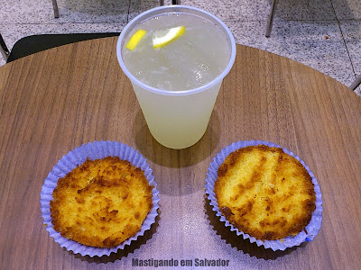 h3 new hamburgology: Limonada Siciliana e Bolinhos de Aipim