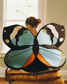 MARTHA STEWART BUTTERFLY WINGS DIY / ALAS DE MARIPOSA TUTORIAL