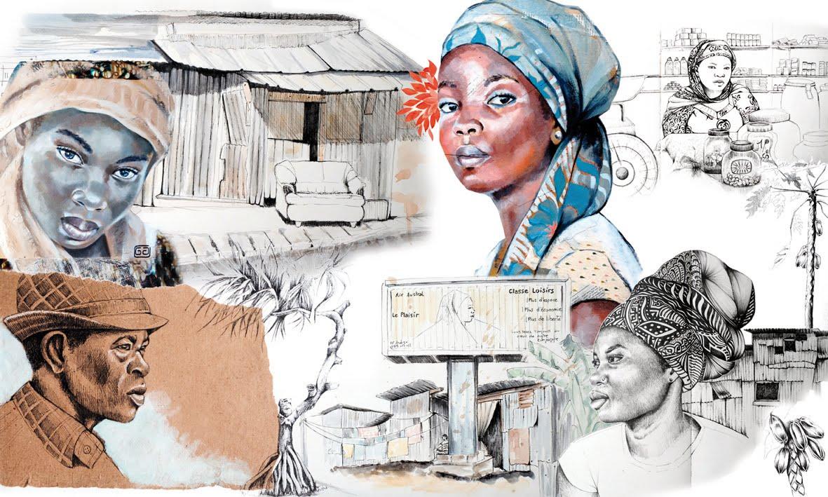 Farf'art - Portraits-Carnets de voyage