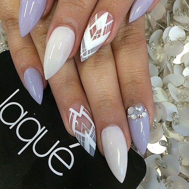 how to nail art designs _Innovative Stiletto Nail Designs!design on ...
