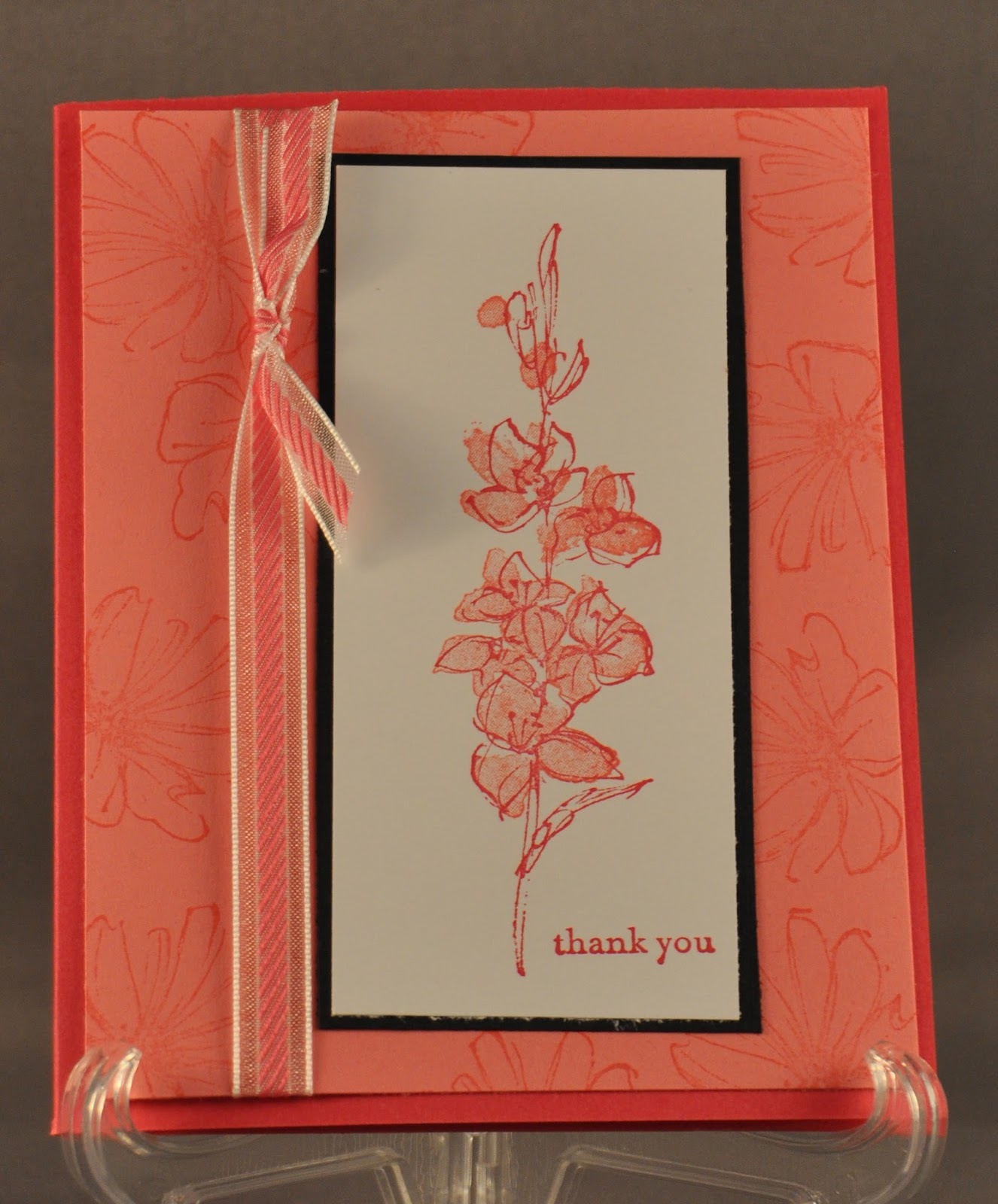 Winnie's Whims & My Crafts: Fast and Fabulous Thank You