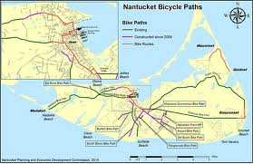 photo of Nantucket Bike Trail map