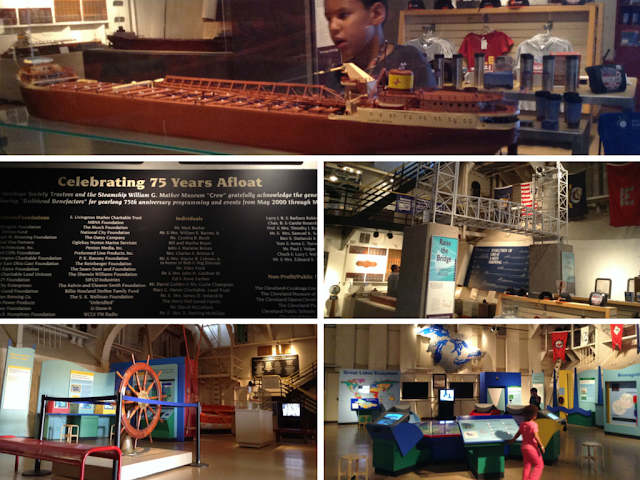 The museum on the Mather at Great Lakes Science Center