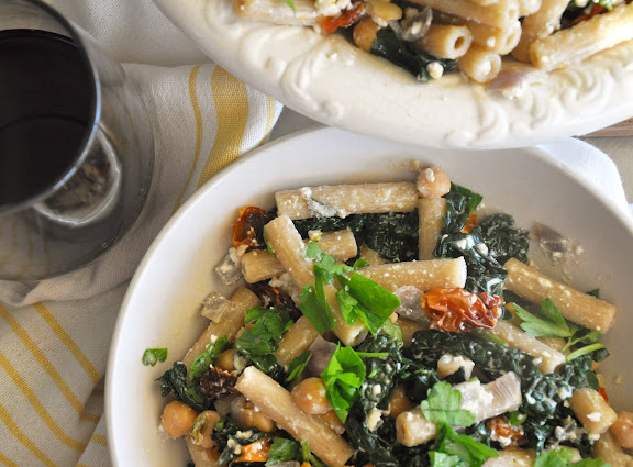 Recipe: Greek kale pasta