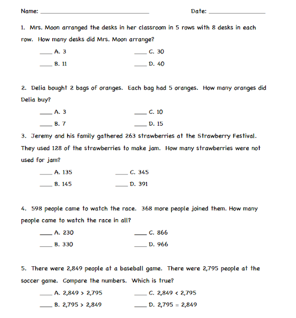 Addition Word Problems Worksheets 4th Grade Addition And – Multi Step Word Problems 4th Grade Worksheets