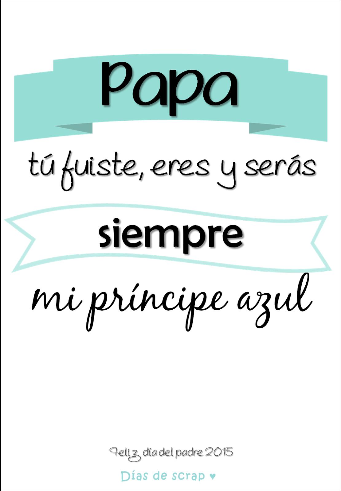 freebie cartel descargable para el dia del padre
