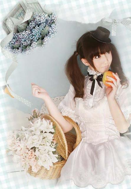 pure white lolita dresses