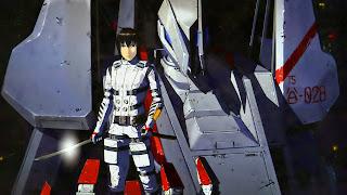 Tapeta z Nagate Tanikaze z anime Sidonia no Kishi