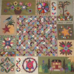 In The Orange Grove Quilt Pattern