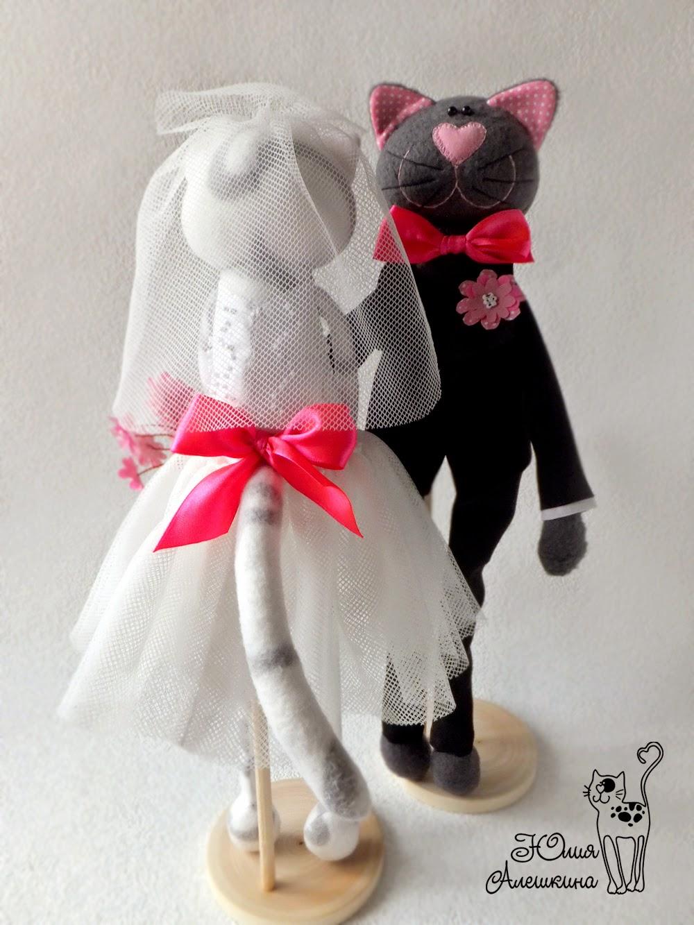 Котики в подарок на свадьбу