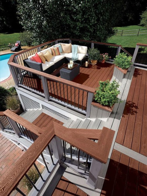 Wood Deck Designs