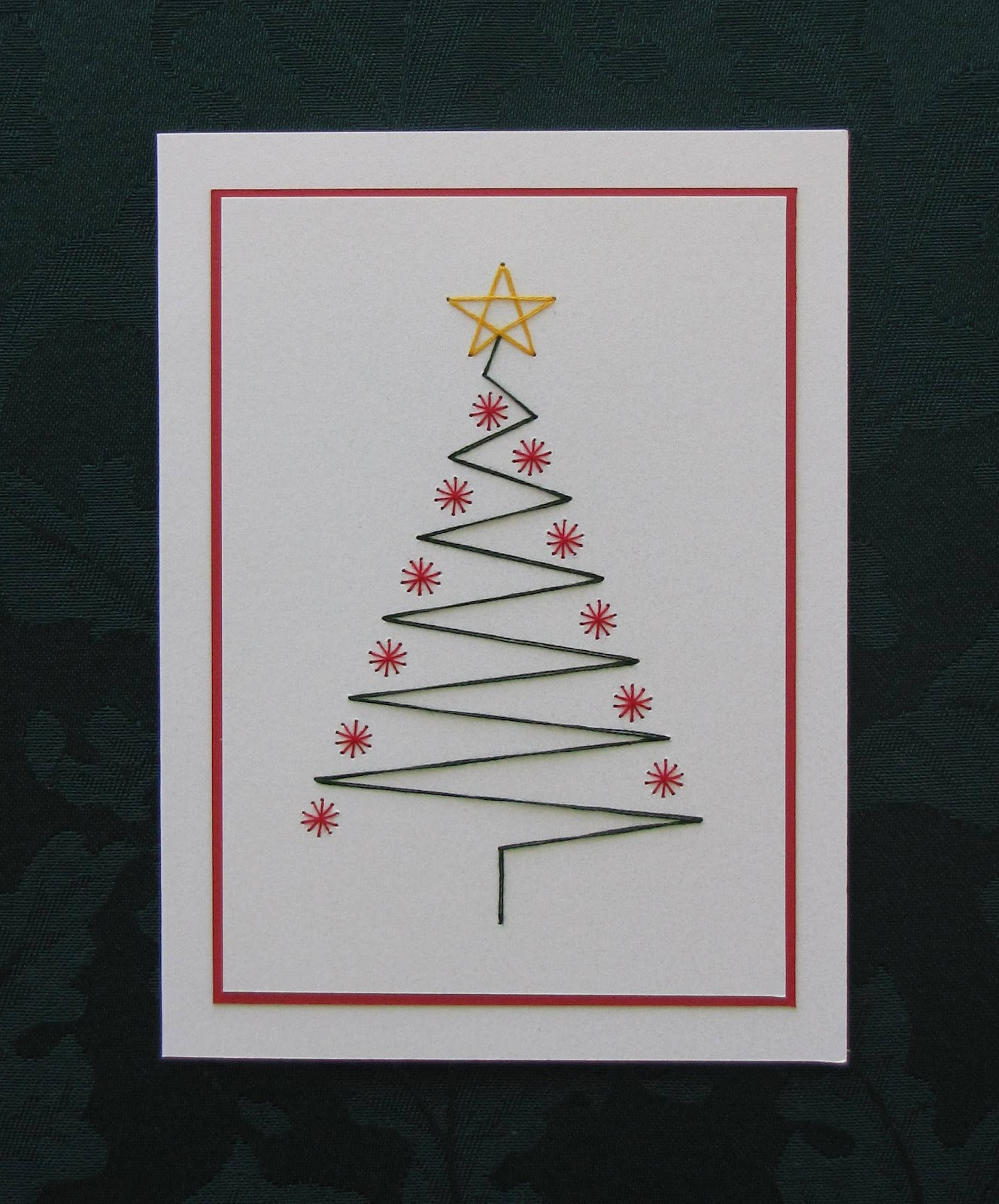 Handmade by Kath: Less is More Christmas Tree