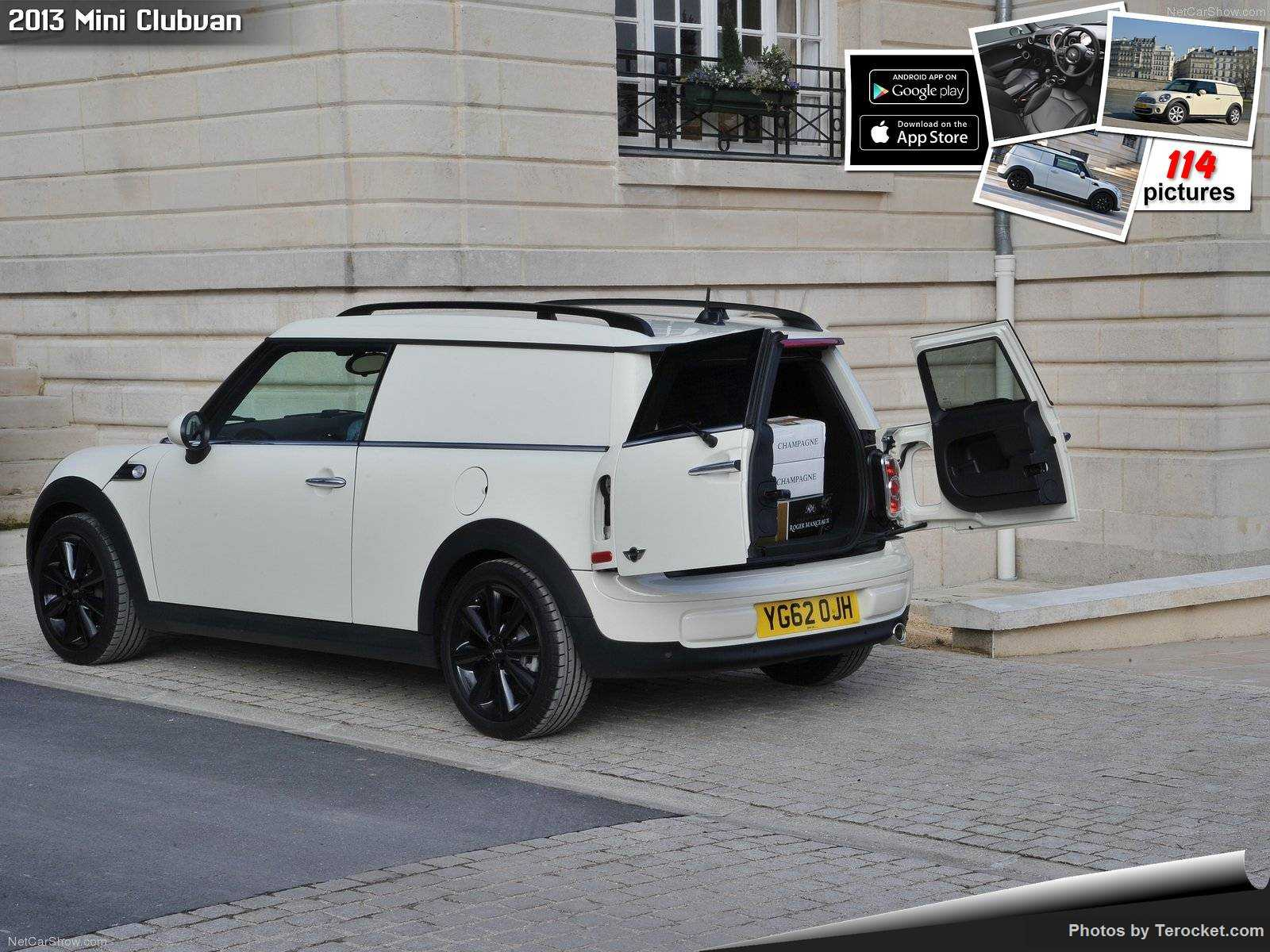 Hình ảnh xe ô tô Mini Clubvan 2013 & nội ngoại thất