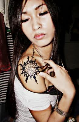 Fotos, dicas e imagens de Tatuagens Femininas Tribais