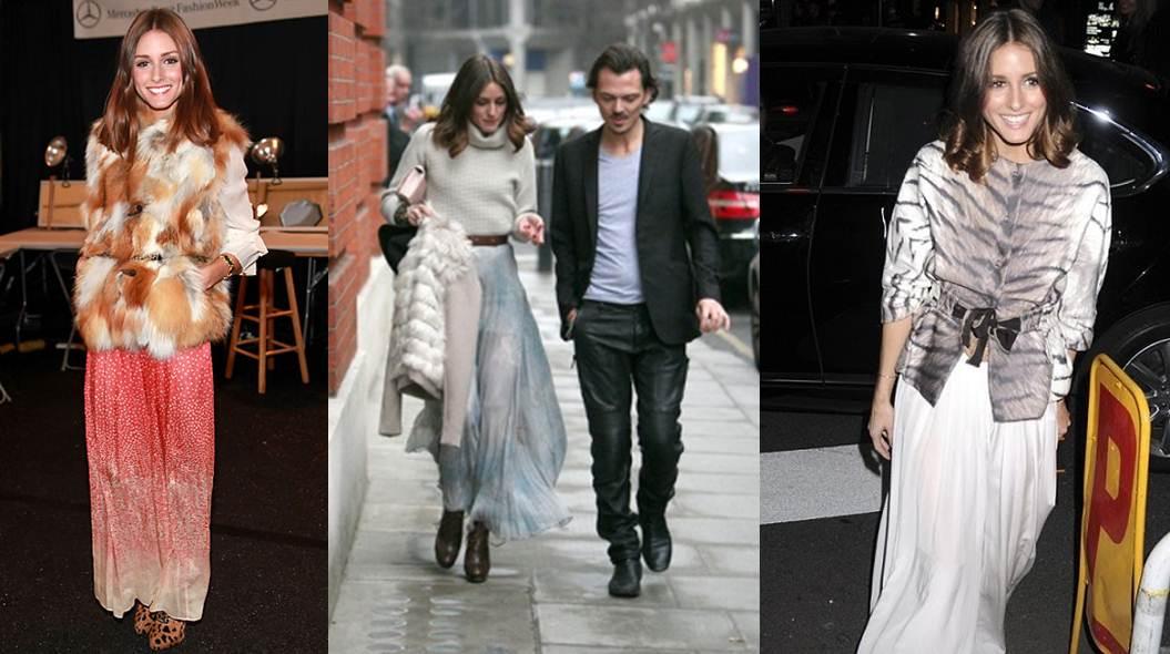 Faldas y vestidos largos casuales