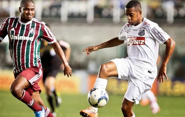 Santos 0 x 1 Fluminense - saudade de Lucas Lima