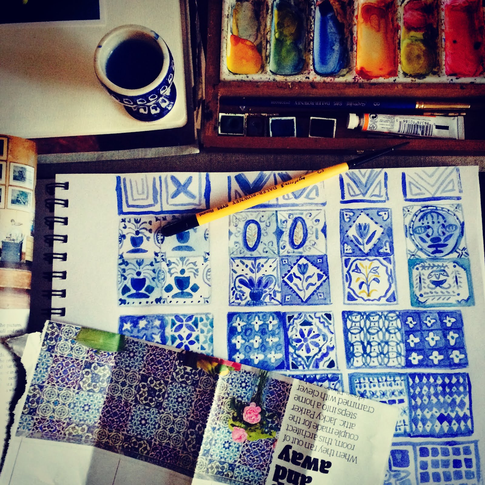 Painting patterns