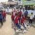 Siswa MTs Ikuti Gerak Jalan Dalam Rangka HUT RI