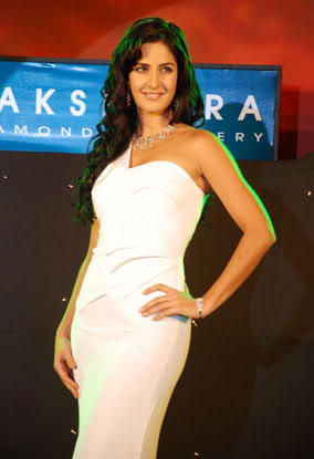 katrina kaif in white dress