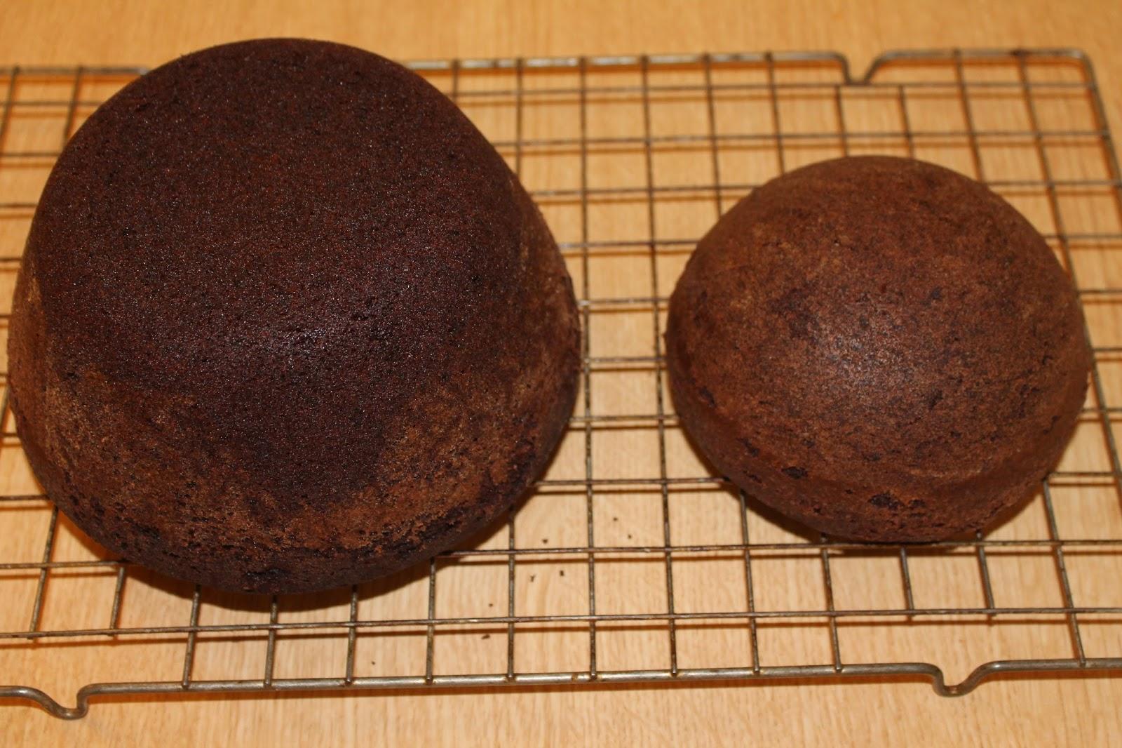 Hemisphere Cake Pan Batter Amount
