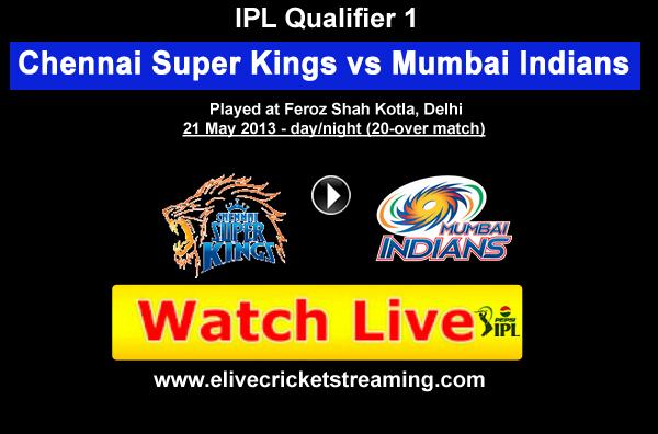 IPL Live: Chennai vs Mumbai live streaming IPL 2013
