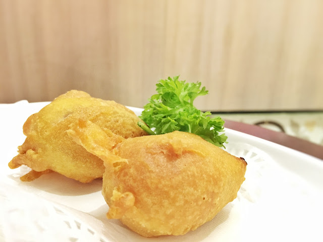 ChaoZhou Porridge - Crisp-fried Taro Rolls (香芋煎卷)