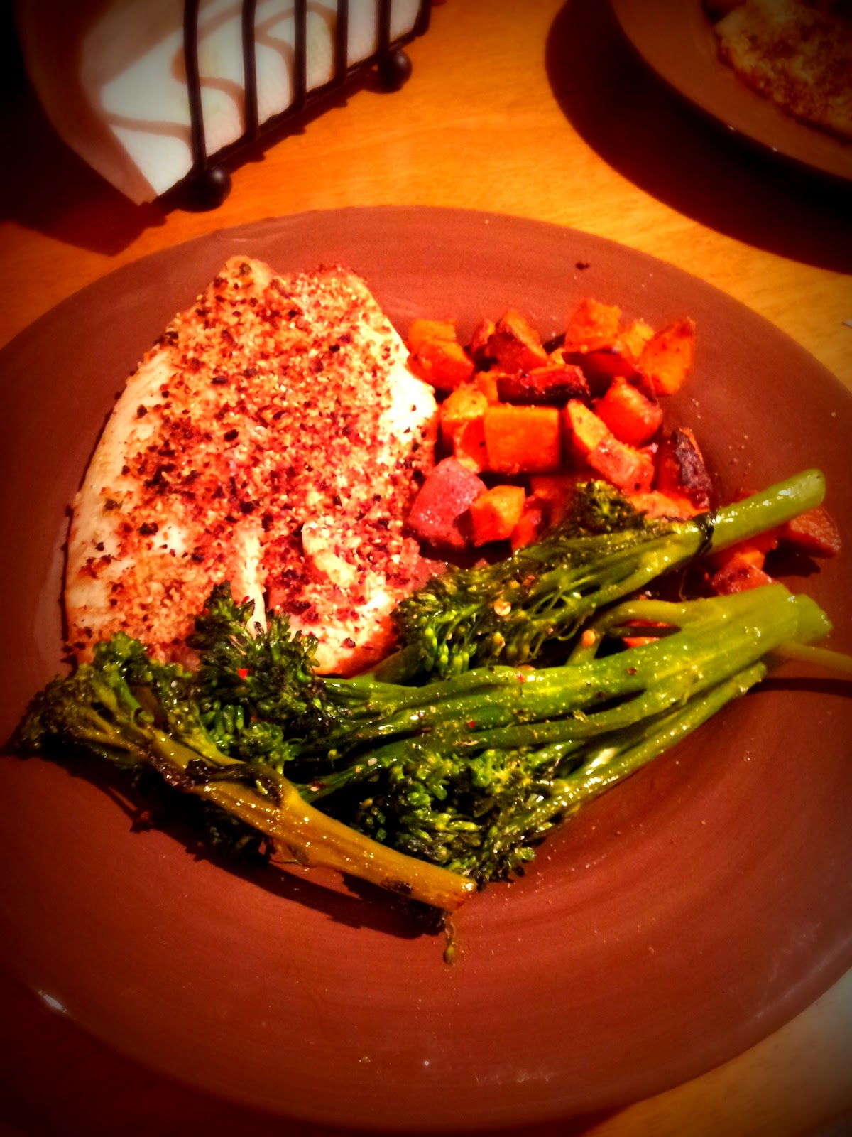 Kat's Fit Food: Pumpkin Seed Encrusted Tilapia with ...
