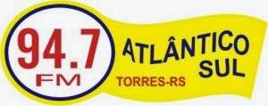 Rádio Atlântico Sul FM de Torres ao vivo