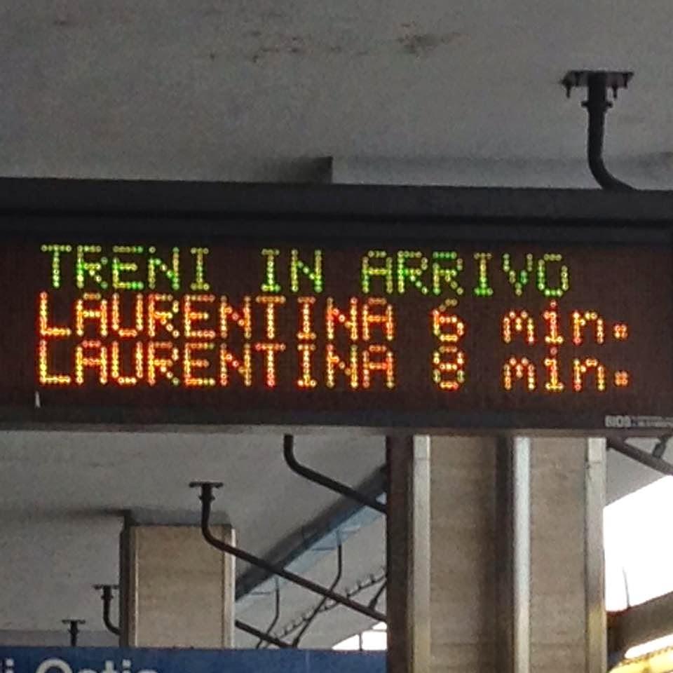 Il Tabellone di Magliana - Metro B
