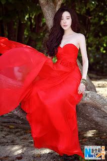 Actress Xinyu Jiang
