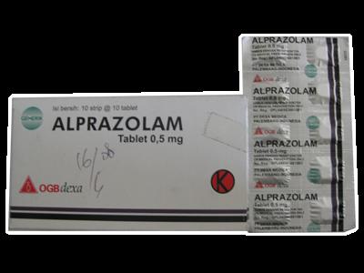 alprazolam dosage for sedation