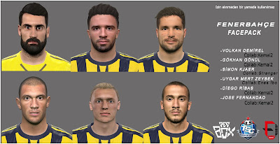 PES 2016 Fenerbahce Facepack by Facemaker Oguzhan