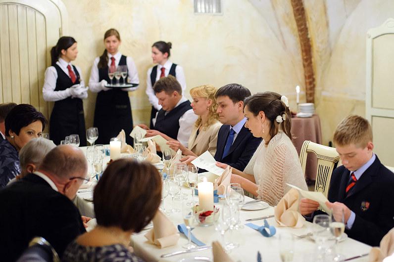 vestuvių vakarienė
