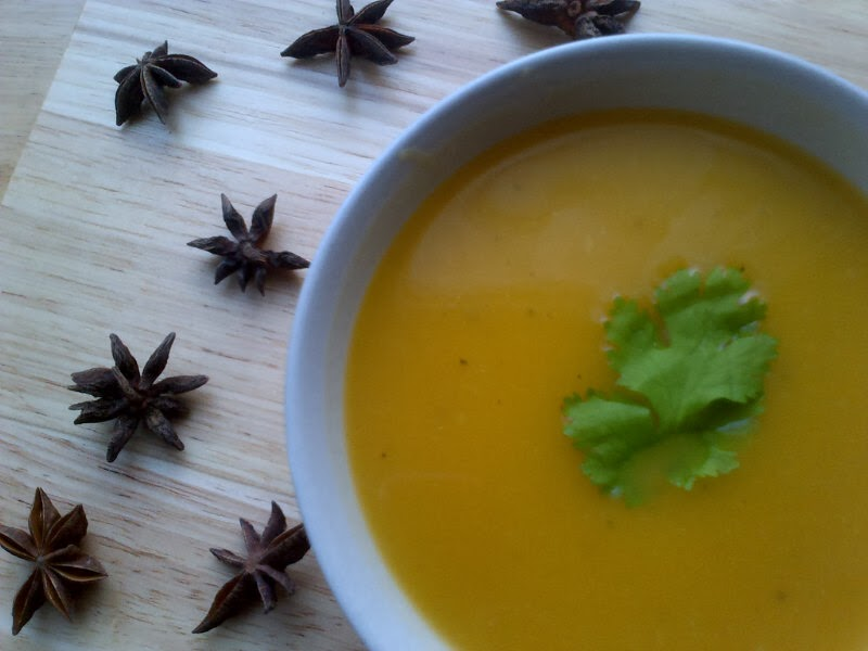 ... Vegan Kitchen: D.K's Butternut Squash Soup with Star Anise and Ginger
