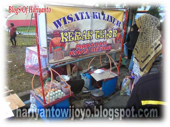 Wow Ternyata Penjual Kerak Telor Bukan Dari Jakarta