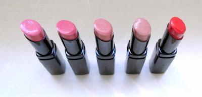 Suqqu creamy glow lipstick 1 saebana 2 kyoganoko 6 umegasumi 12 hiwada 18 karakurenai
