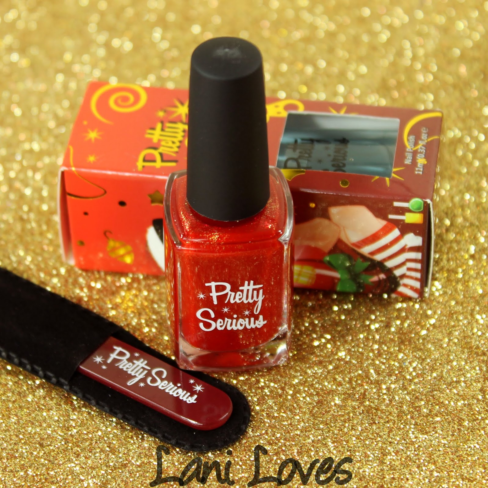 Pretty Serious - Evie's First Christmas Bundle Swatches & Review
