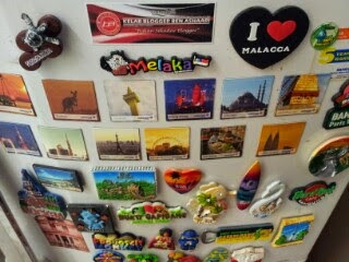 Fridge Magnet Button Badge Kelab Blogger Ben Ashaari