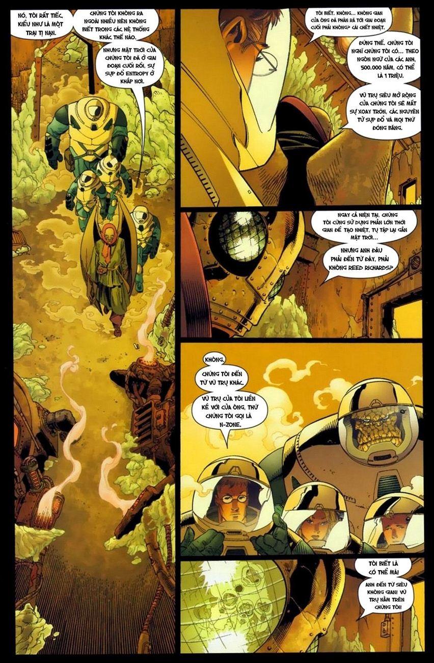 Ultimate Fantastic Four chap 16 - Trang 9