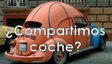 ¿Compartimos coche?
