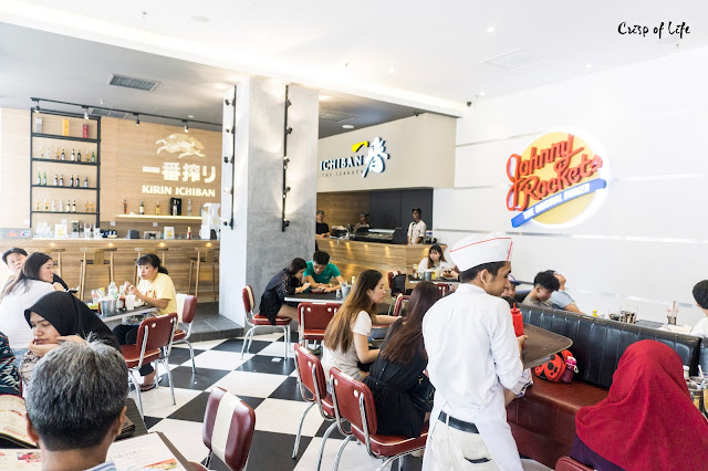 Urban Food Hall Gurney Paragon Johnny Rockets Ichiban