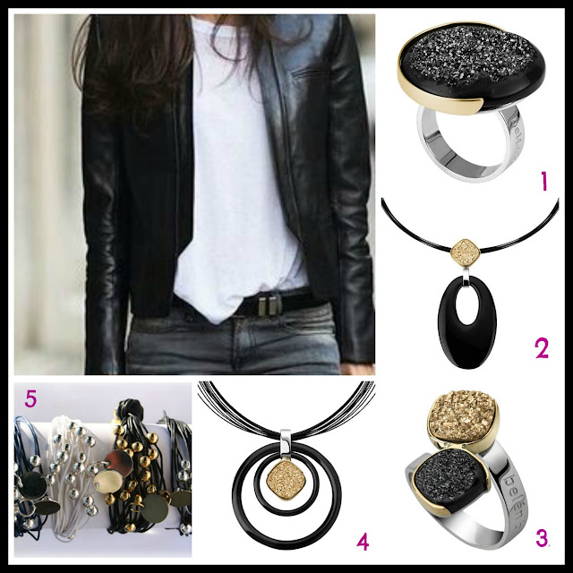black, Halloween, black jewellery
