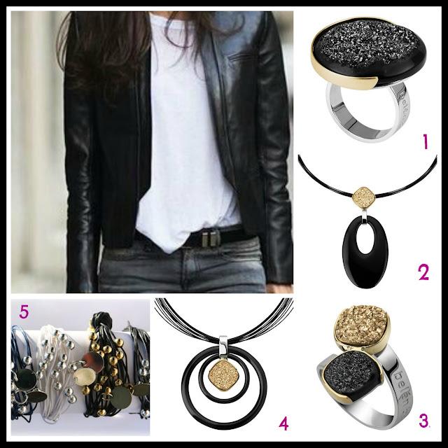 black, Halloween, black jewellery