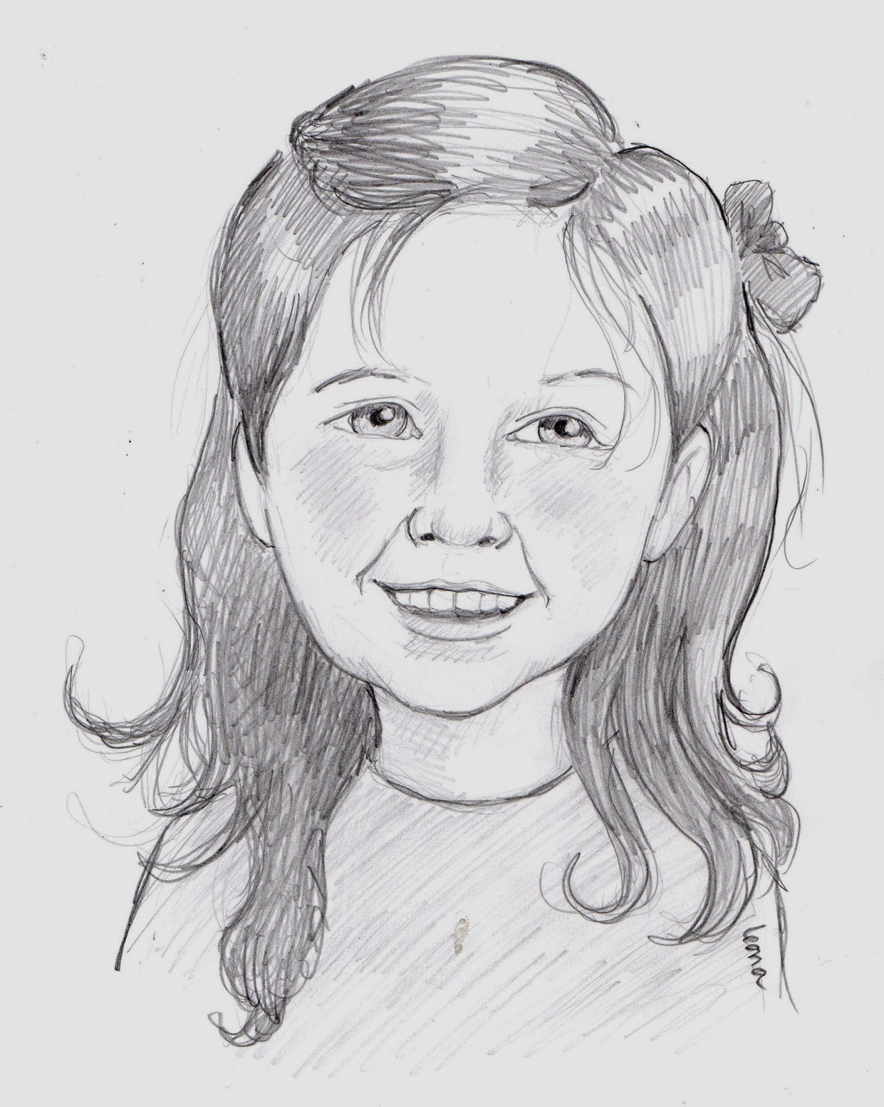 Graphite Portrait by Leona Hosack