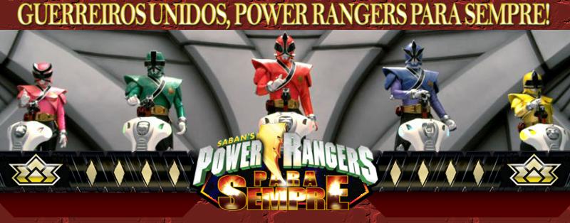Power Rangers Para Sempre