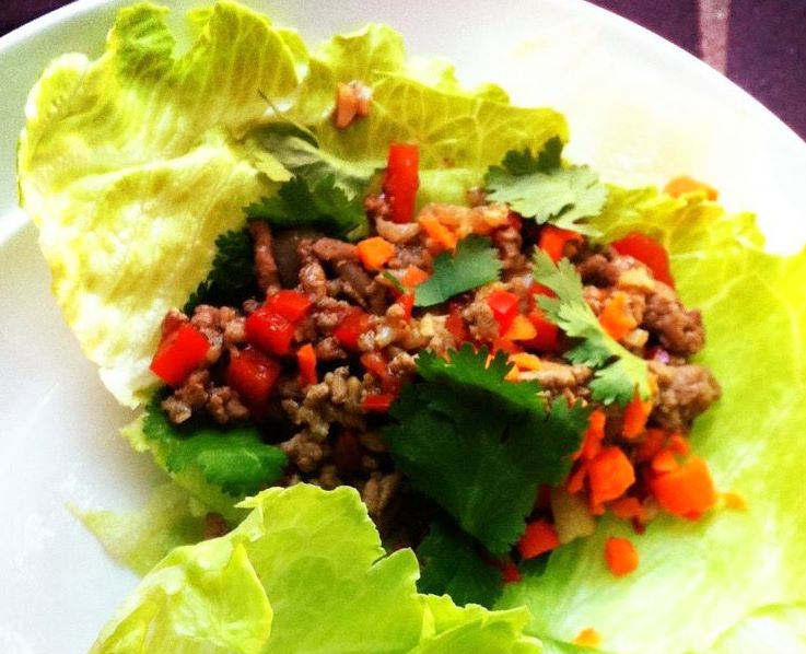 lettuce wraps mini chicken lettuce wraps asian chicken lettuce wraps ...