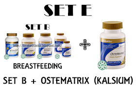 Set E (Set B + Ostematrix)