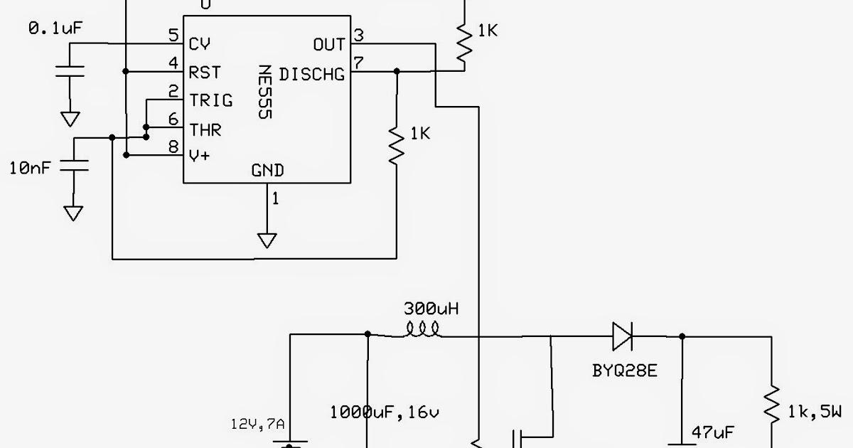 emerging technologies  555 based boost converter
